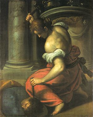 Sisera - Yael Killing Sisera, by Palma the Younger.