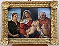 Palma il vecchio (bottega), madonna col bambino tra i ss. giovannino, giuseppe e caterina d'a., 1500-25 ca.jpg