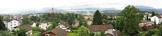 Emmen, Switzerland - Image: Panorama Emmenbruecke