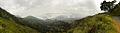 Panoramic view of Mountains from Pilkholi near Ranikhet, Uttarakhand in India.jpg