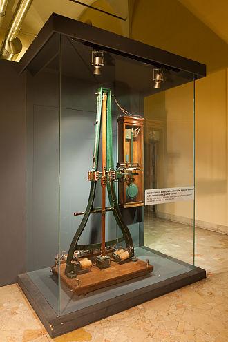 Pantelegraph - Pantèlègraph by Giovanni Caselli, 1933 replica exhibited at the Museo nazionale della scienza e della tecnologia Leonardo da Vinci, Milan.