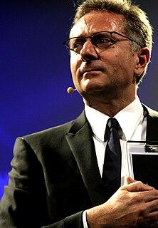 Paolo Bonolis Italian television presenter