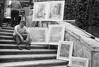 Paolo Salvati - espone nel 1973 alla XVI - Rassegna di Arti Plastiche e Figurative - Trinità dei Monti - Roma.jpg