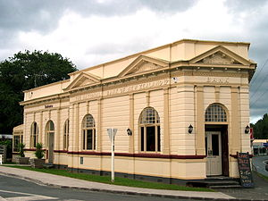 Paparoa - Former National Bank of New Zealand, Paparoa, Northland (now a private residence) Listed Heritage 1 status