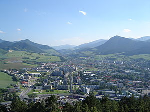 Ružomberok - Panorama of Ružomberok