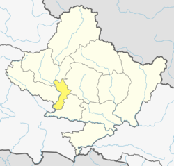 Location of Parbat (dark yellow) in Gandaki Province