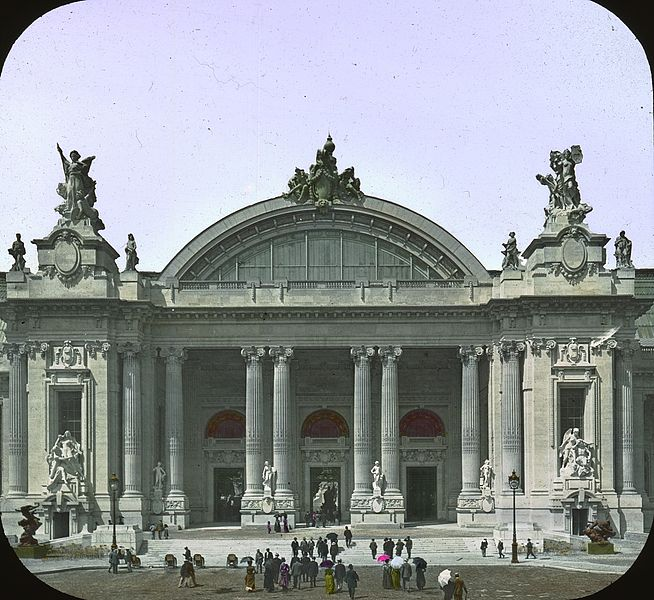 File paris exposition grand palais paris france 1900 wikimedia commons - Grand palais expo horaires ...