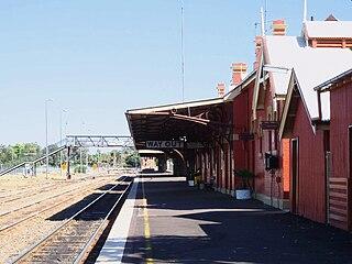 Broken Hill railway line railway line in New South Wales, Australia