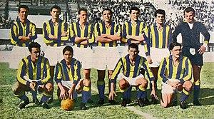 Parma Calcio 1913 - 1956–57 Parma in Gialloblu shirt