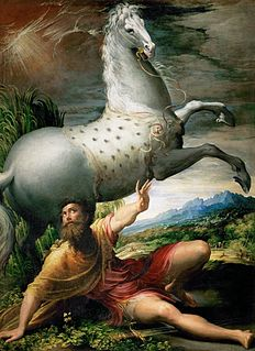 <i>The Conversion of St Paul</i> (Parmigianino) painting by Parmigianino