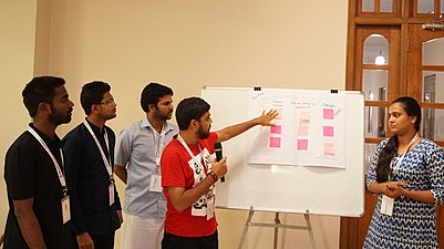 Participants at Wikimedia Education SAARC Conference 2019 (127).jpg