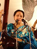 Parveen Sultana performing in Arghya 2011.jpg