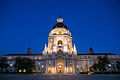 Pasadena City Hall at dusk.jpg