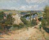 Paul Gauguin - Entrance to the Village of Osny - Google Art Project.jpg