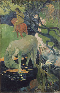 Paul Gauguin - The White Horse - Google Art Project.jpg