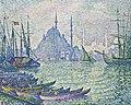 Paul Signac (1863-1935), La Corne d'or. Les Minarets. Christie's.jpg