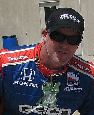 Paul Tracy - Tracy at the Indianapolis Motor Speedway for the Second Qualification Day for the 2009 Indianapolis 500
