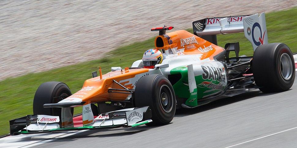 Paul di Resta 2012 Malaysia FP1