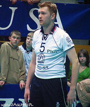 Paweł Zagumny - Zagumny as the AZS Olsztyn player in season 2005/2006.