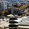 Peace Pagoda and Japan Center (30628404542).jpg