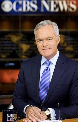 Scott Pelley - Pelley at the CBS Broadcast Center in New York