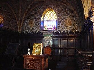 Pena Palace - Image: Pena Palace chapel