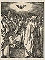 Pentecost, from The Small Passion MET DP816003.jpg