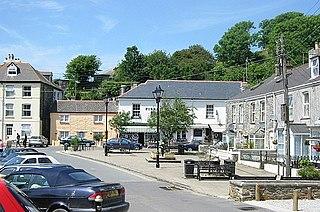Pentewan Human settlement in England