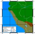 Perú fauna map.png