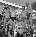 Per-Olof Olsson, Martin Lundén, Per-Olof Östrand, Olle Johansson 1947.jpg