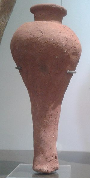 Seth-Peribsen - Vessel from the tomb of king Peribsen, Ashmolean Museum.