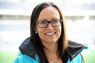 Pernilla Larsson Swedish association football referee and association football player