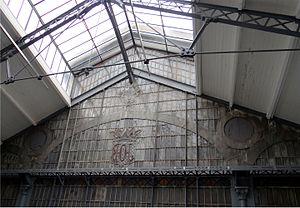 """Pierre Bardou-Job - Skylight of the """"Hôtel de l'Industrie du Papier a Cigarette"""