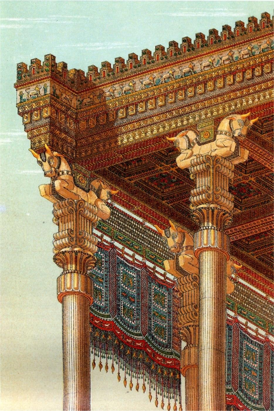 Persepolis Reconstruction Apadana Toit Chipiez.JPEG