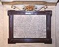 Pescia, madonna di pie' di piazza, interno, lapide 1605 ferdinando I e cristina di lorena.jpg