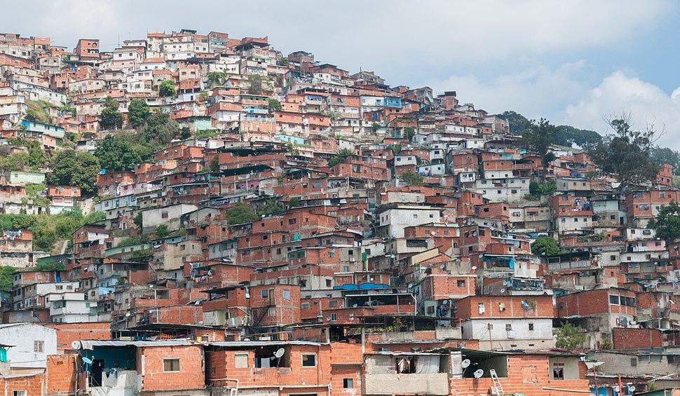 Petare Slums in Caracas