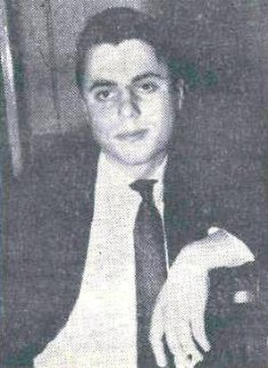 Peter Jambrek - Peter Jambrek in 1962