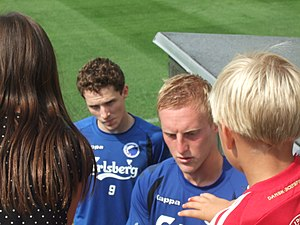 Peter Larsson (footballer, born 1984) - Image: Peter Larsson 2008