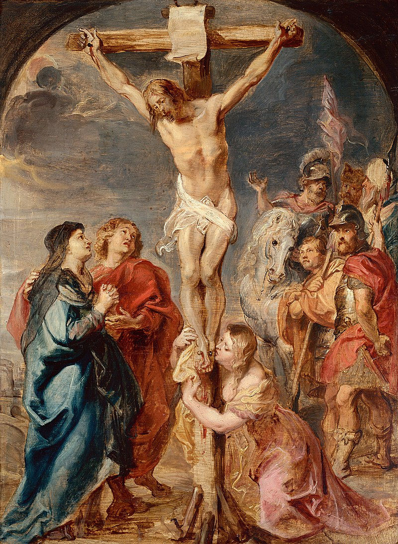 Alain de Botton and the transcendent power of art - Centre ... Jesus On The Cross Painting