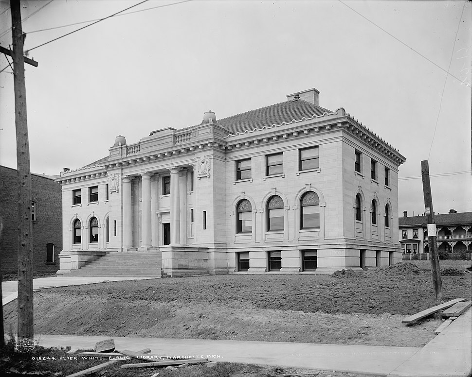 Peter White Public Library, Marquette, Mich. c.1905