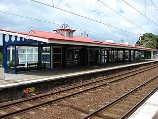 Petone railway station railway station