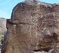 Petroglyph National Monument in September 2011 - Rinconada Canyon - petroglyphs 3.JPG