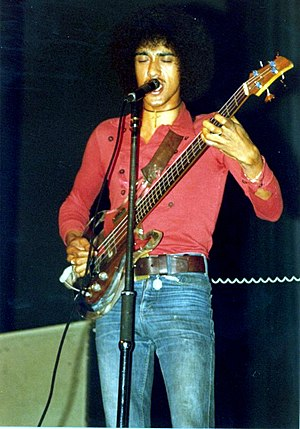 Phil Lynott - Lynott with Thin Lizzy in Frankfurt, Germany, 1972