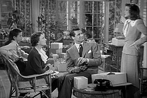 Virginia Weidler - In The Philadelphia Story (1940) at the left, with Mary Nash, Cary Grant and Katharine Hepburn