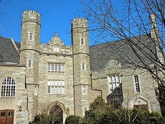 West Chester State College Quadrangle Historic District - Image: Philips Hall WCU 1
