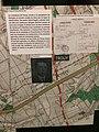 Photo de la ligne de démarcation au niveau de la ville de Trouy (Cher) avec l'article sur Mr Segril. Musée de la Résistance et de la Déportation de Bourges.jpg