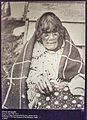 Photo of a Moriori woman, Canterbury Museum, 2016-01-27.jpg
