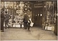 "Photograph of Earle Frere, a young truant selling extra during school hours Monday on Pennsylvania Avenue. He said ""I... - NARA - 306626.jpg"
