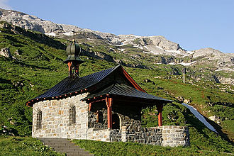 Klausen Pass - Bruder-Klaus-Kapelle