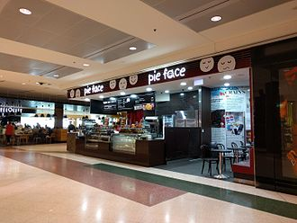 Pie Face - A Pie Face store at Sydney Airport in 2017